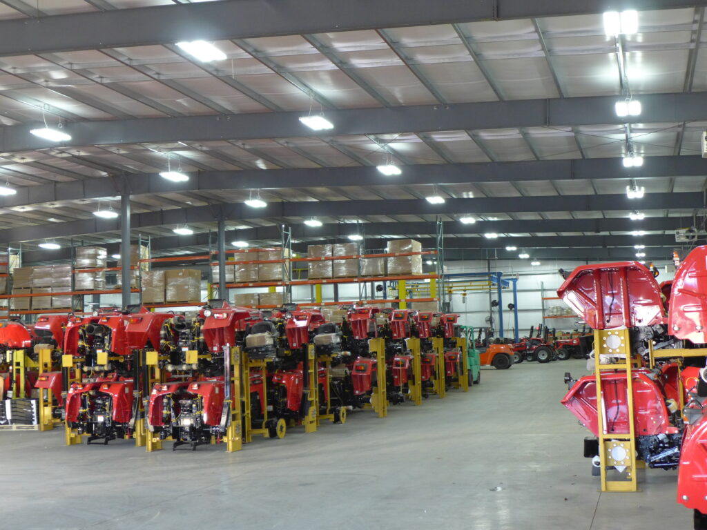 Chattanooga Tractor Mahindra Assembly Plant
